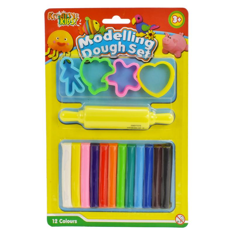 MODELLING DOUGH MINI PLAY SET