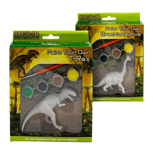 Jurassic Era Paint Your Own Dinosaur Set