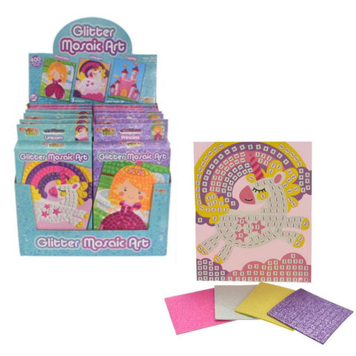 GLITTER MOSAIC ART PLAY SET