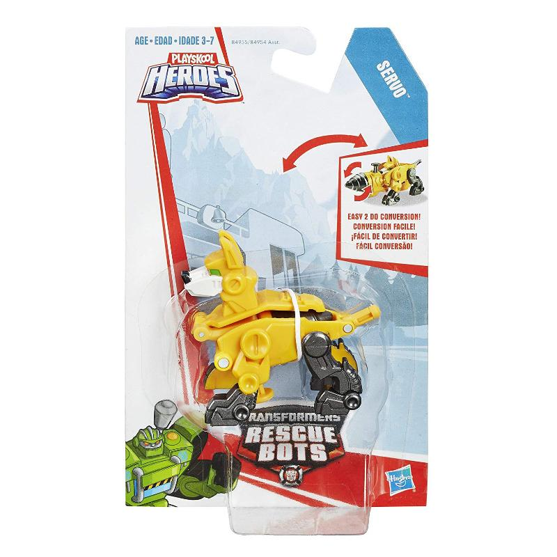 "TRANSFORMERS RESCUE BOTS SERVO MINI 3"" FIGURE"
