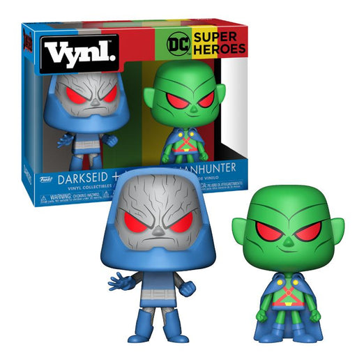 FUNKO VYNL DC DARKSEID & MARTIAN MANHUNTER FIGURE TWIN PACK