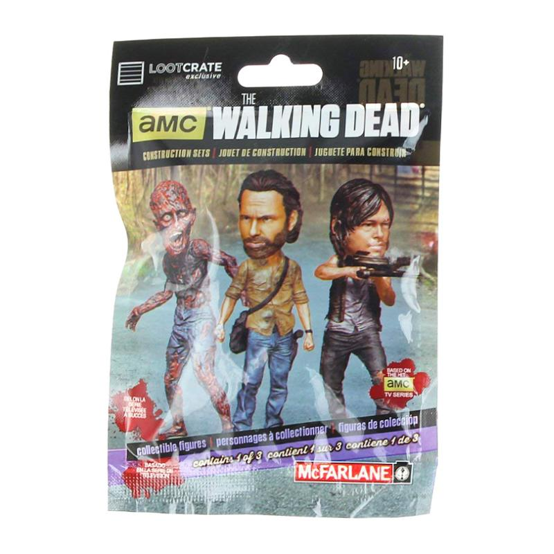 THE WALKING DEAD COLLECTIBLE FIGURE BLIND BAG