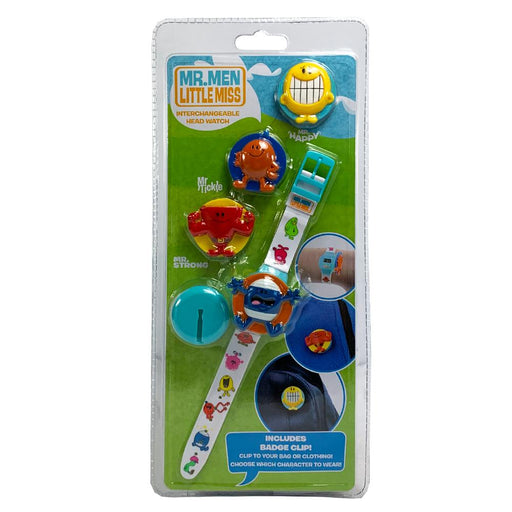 MR MEN LITTLE MISS INTERCHANGEABLE HEAD WATCH - BLUE