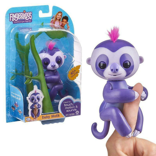 FINGERLINGS BABY SLOTH MARGE WOWWEE INTERACTIVE PET