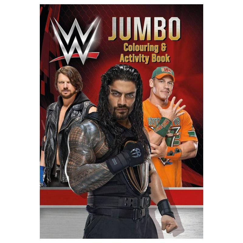 WWE JUMBO COLOURING & ACTIVITY BOOK