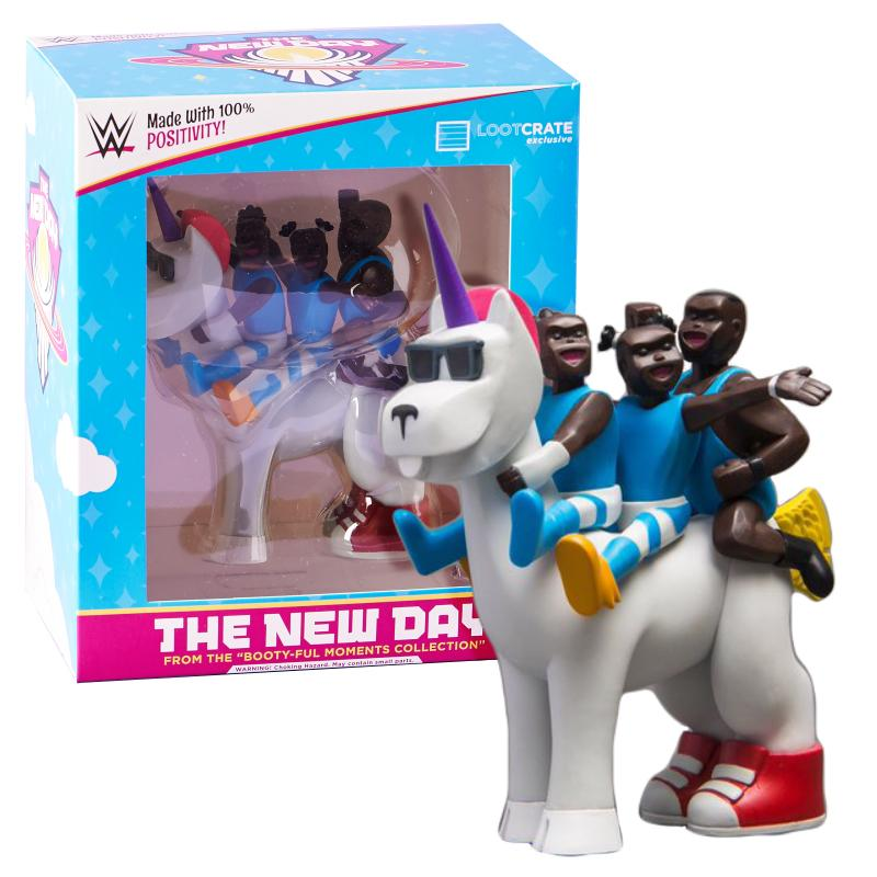 WWE THE NEW DAY EXCLUSIVE LOOT CRATE FIGURE