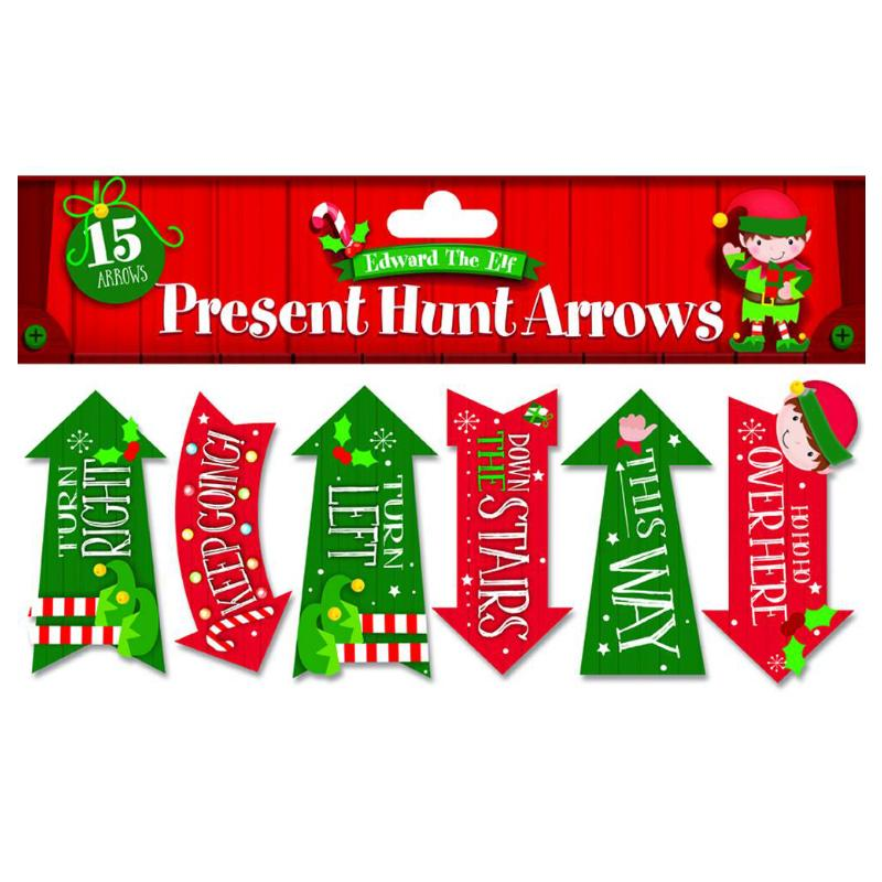 PRESENT HUNT ARROWS 15PK SET