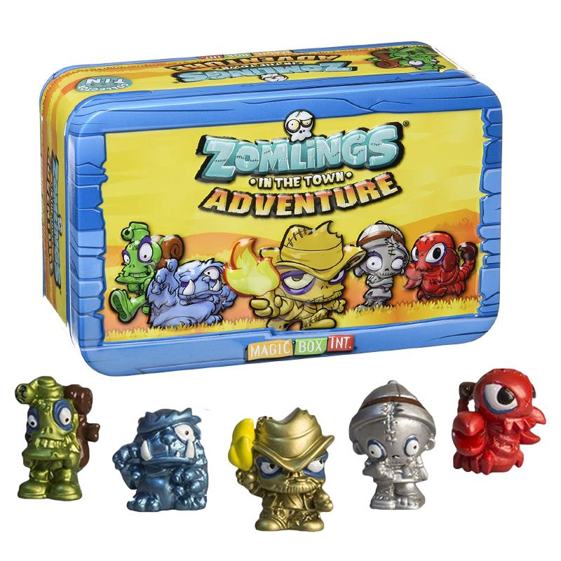 ZOMLINGS IN THE TOWN ADVENTURE COLLECTOR TIN