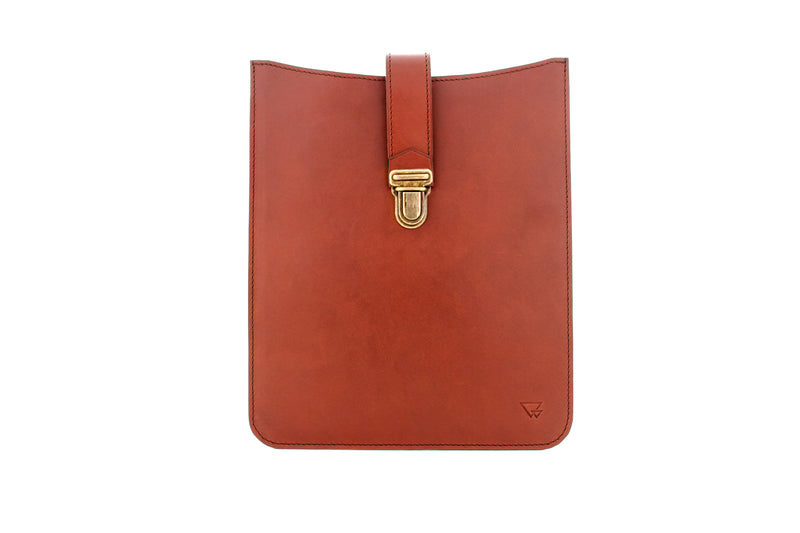 SLEEVE MARRON VINTAGE (Housse pour tablette)
