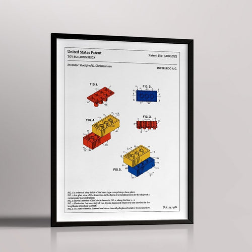 AFFICHE TECHNIQUE LEGO