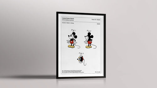 AFFICHE TECHNIQUE MICKEY
