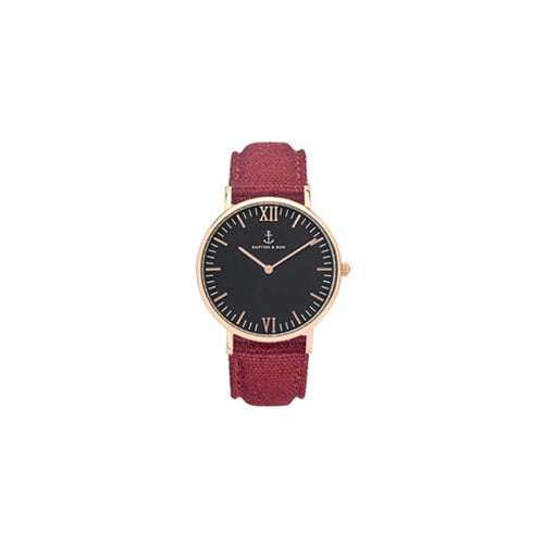 Montre Black Bordeaux