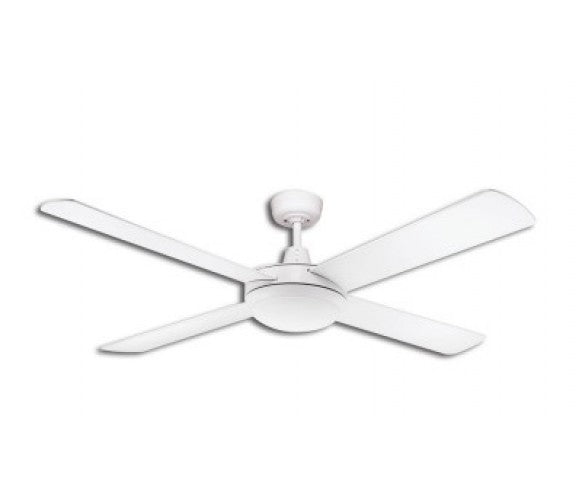 Martec lifestyle ceiling fan 1300mm 52 4 blade white with 24w 5000k martec lifestyle ceiling fan 1300mm 52 4 blade white with 24w 5000k led aloadofball Images