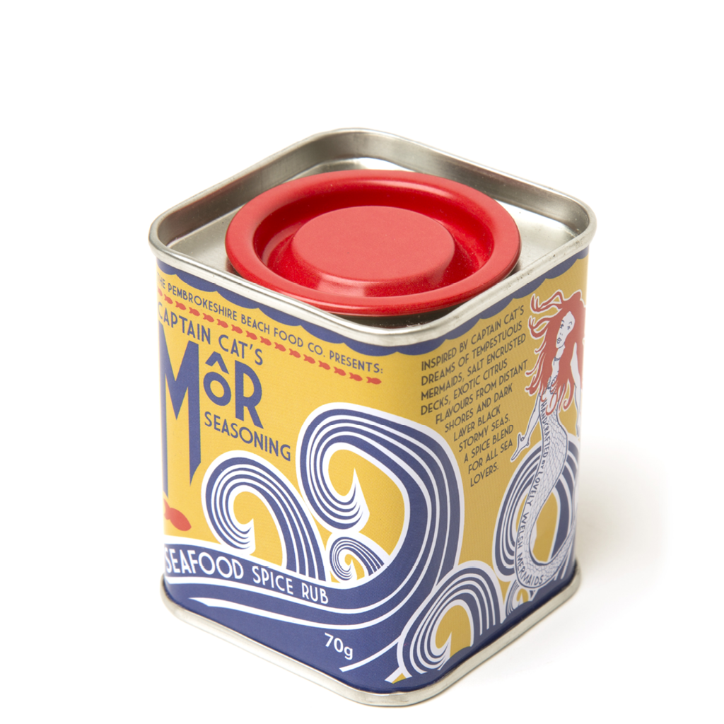 Lever Lid Tin