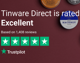 Tinware 5 star Trustpilot review badge