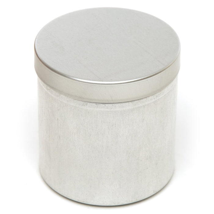 Seamless silver raw aluminium tin