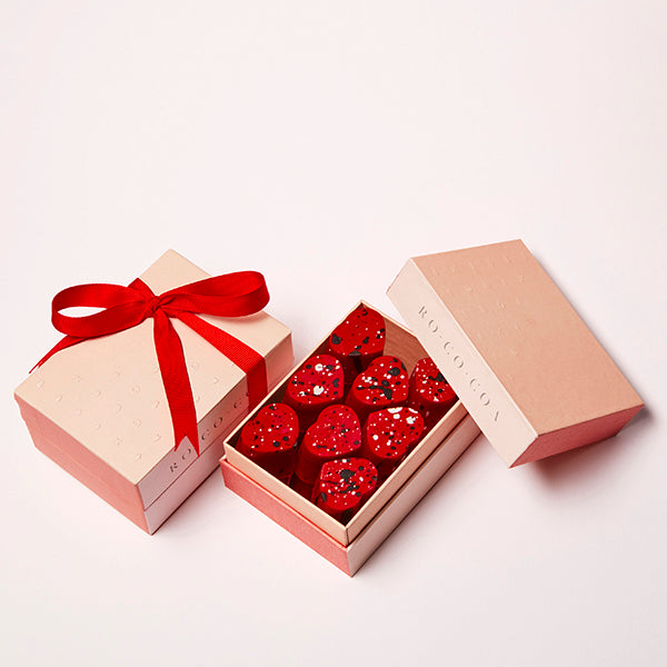 Box of 16 Heart Shaped Truffles