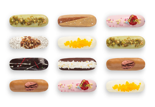Box of 12 Mini-Eclairs