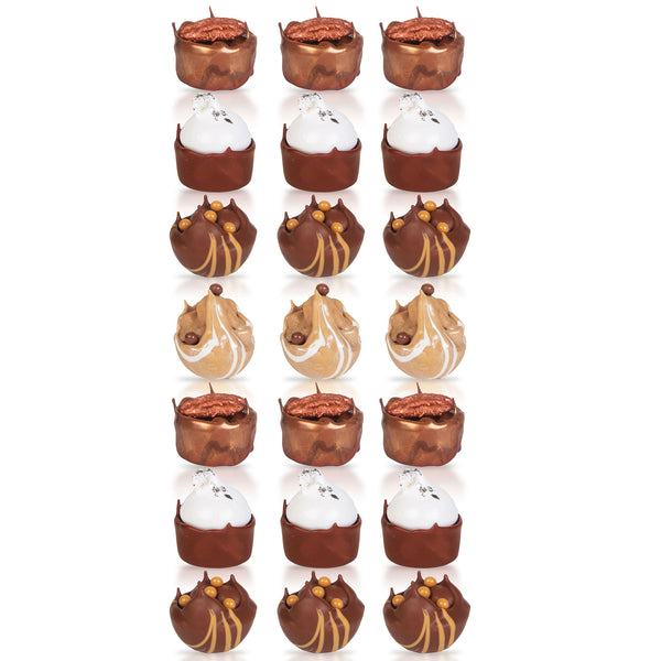Box of 21 Cups De Caramel