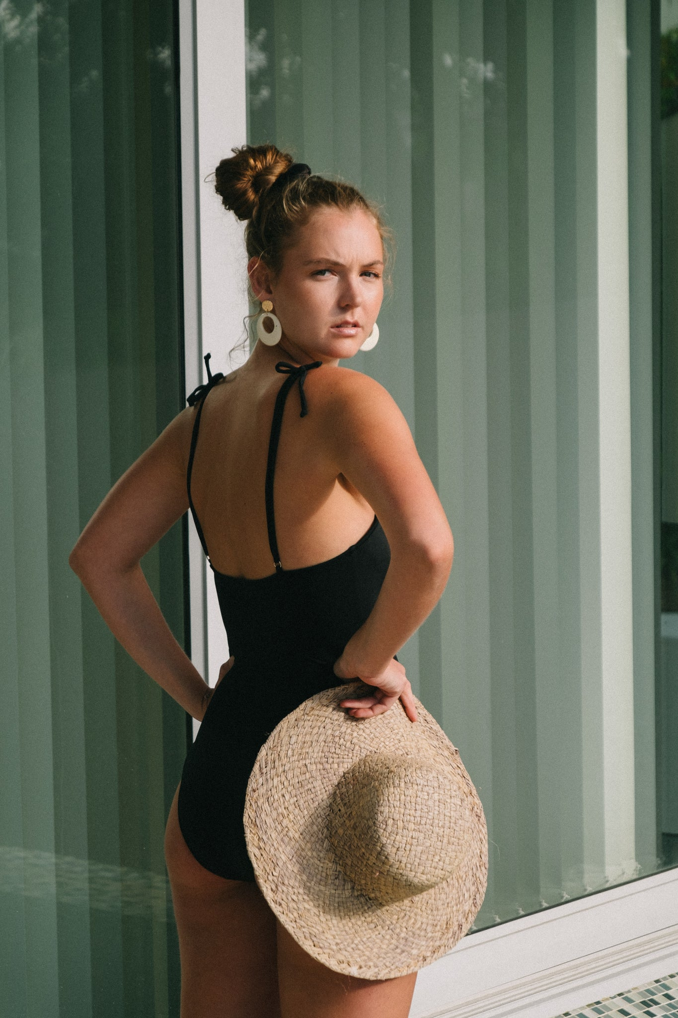 Nigella swimsuit in Noir (black)