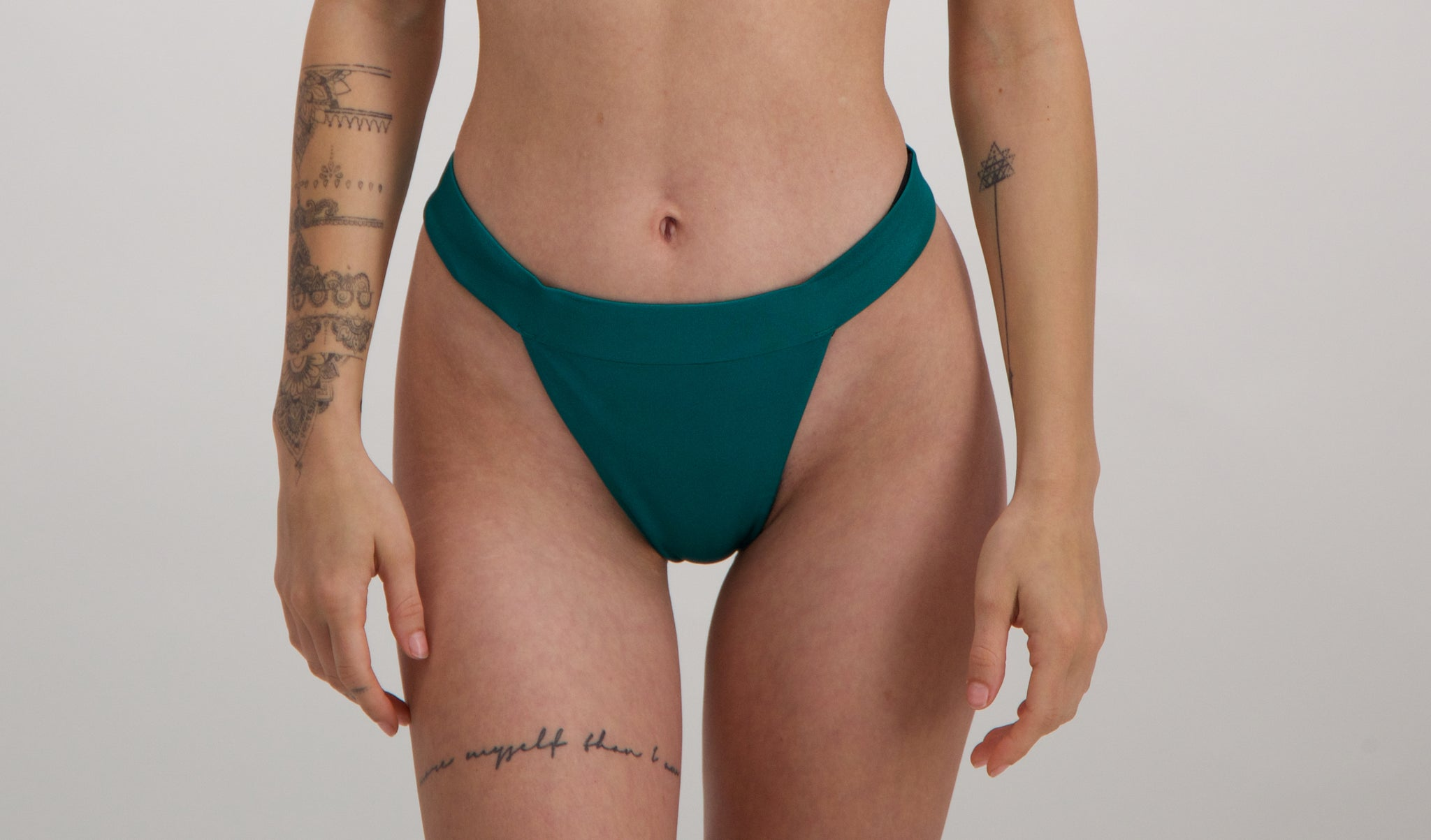 Iris bikini bottom 2.0 in Emerald