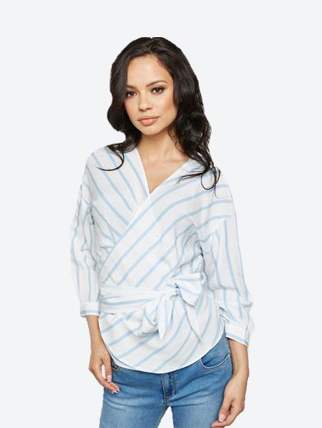 ONLY BETTY WRAP BLOUSE