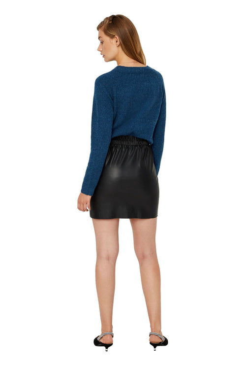 RILEY RUFFLE SHORT SKIRT