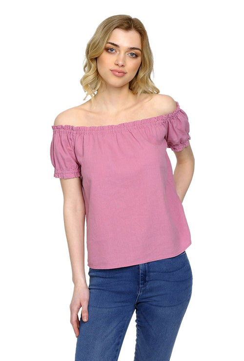 MILO OFF SHOULDER TOP