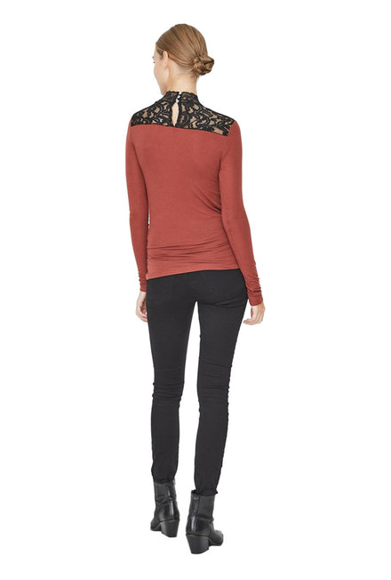 VERO MODA HONIE HIGHNECK TOP