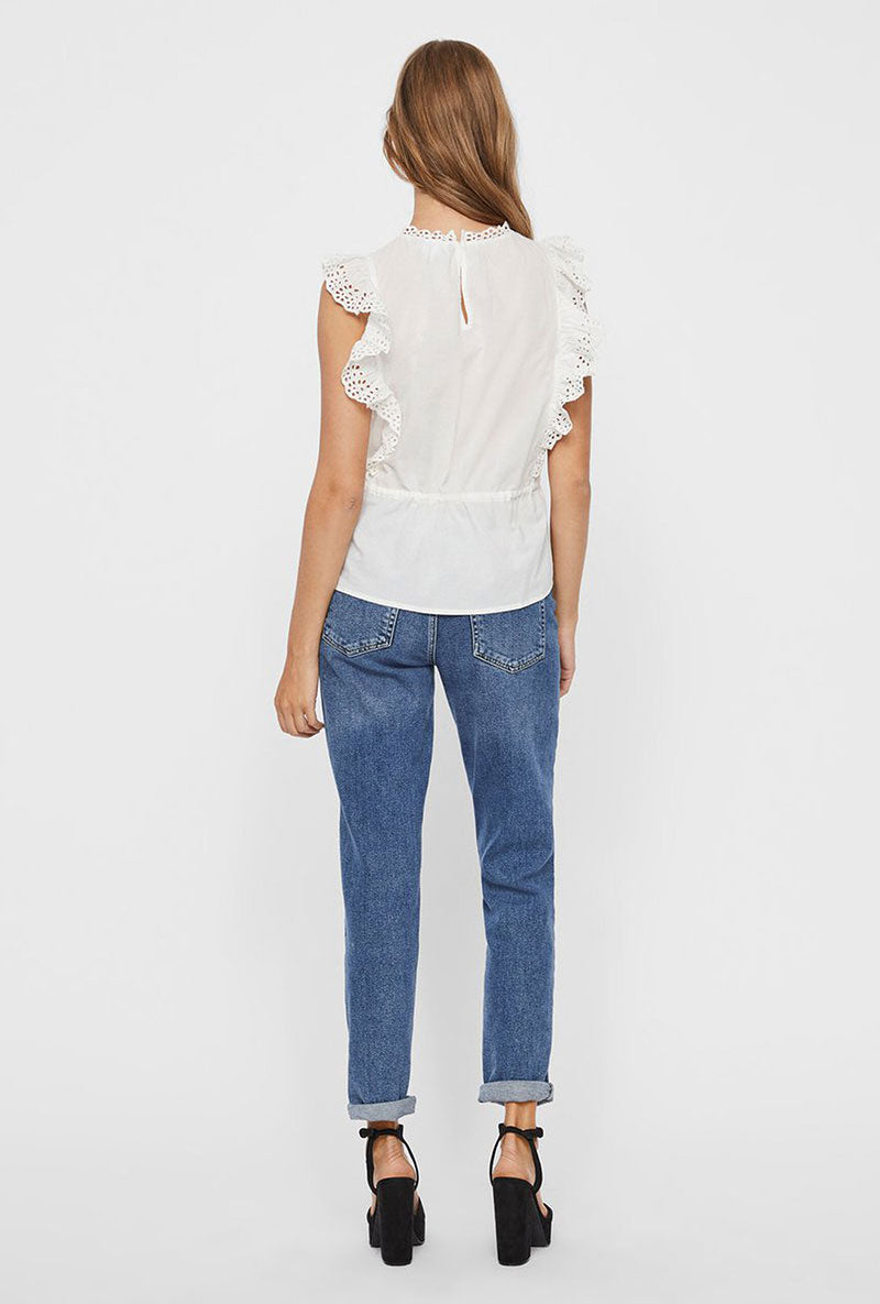 VERO MODA LEAH SHORT TOP