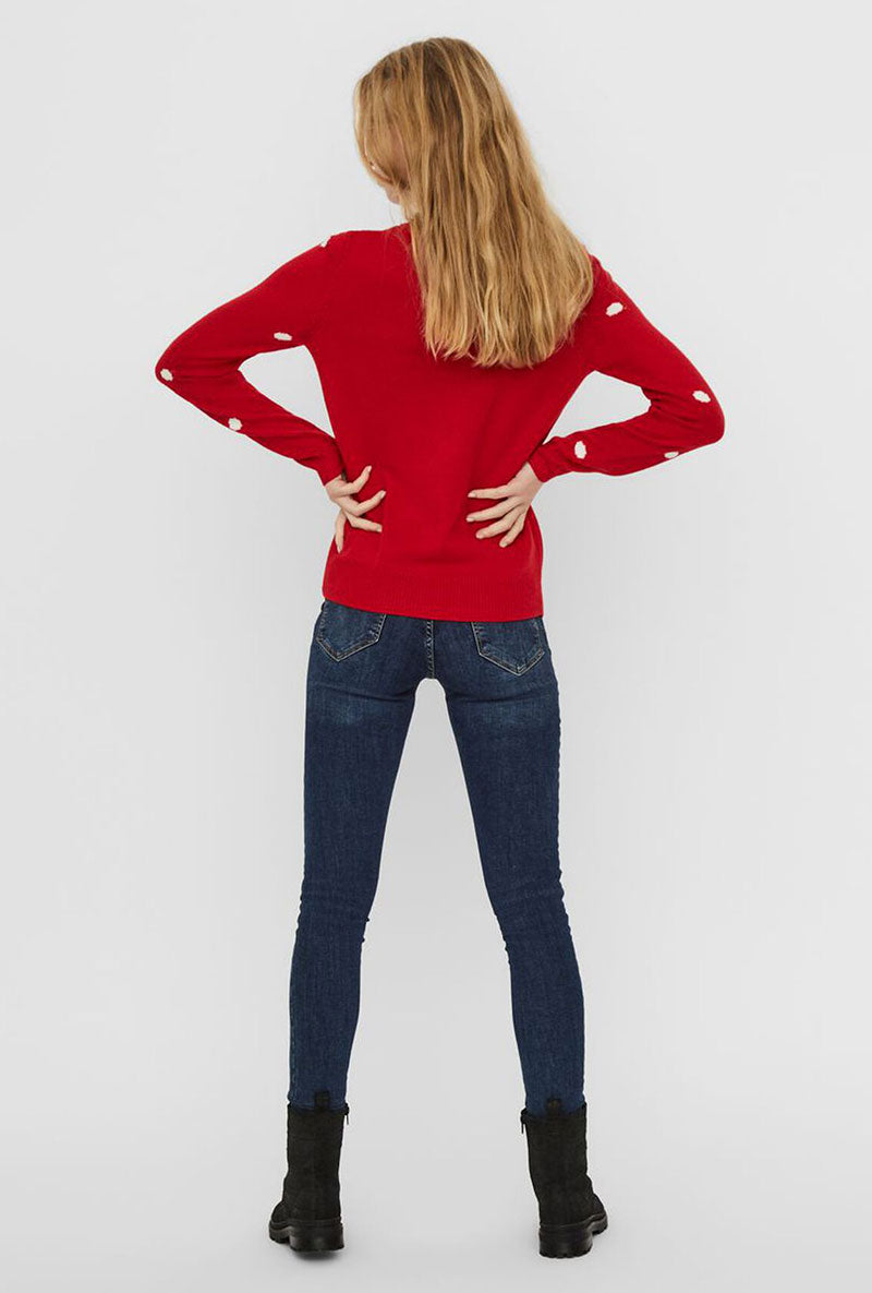 VERO MODA TINSEL KNITTED BLOUSE