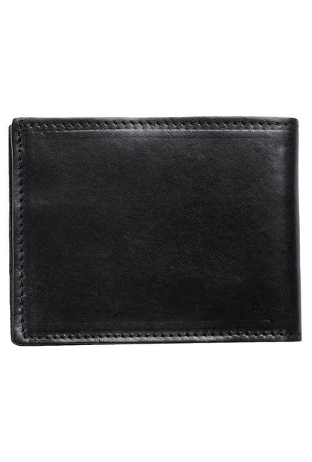 JACK AND JONES DENIM LEATHER WALLET