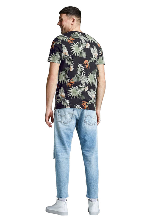 LEAF FLORAL2 TEE-London Clothing Company ®