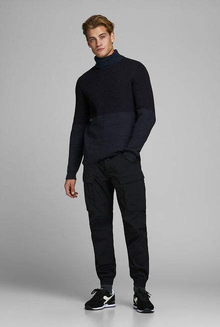 JACK AND JONES TEMPO HIGH NECK KNIT