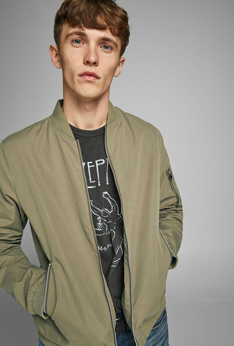 JACK AND JONES RUSH BOMBER JACKET