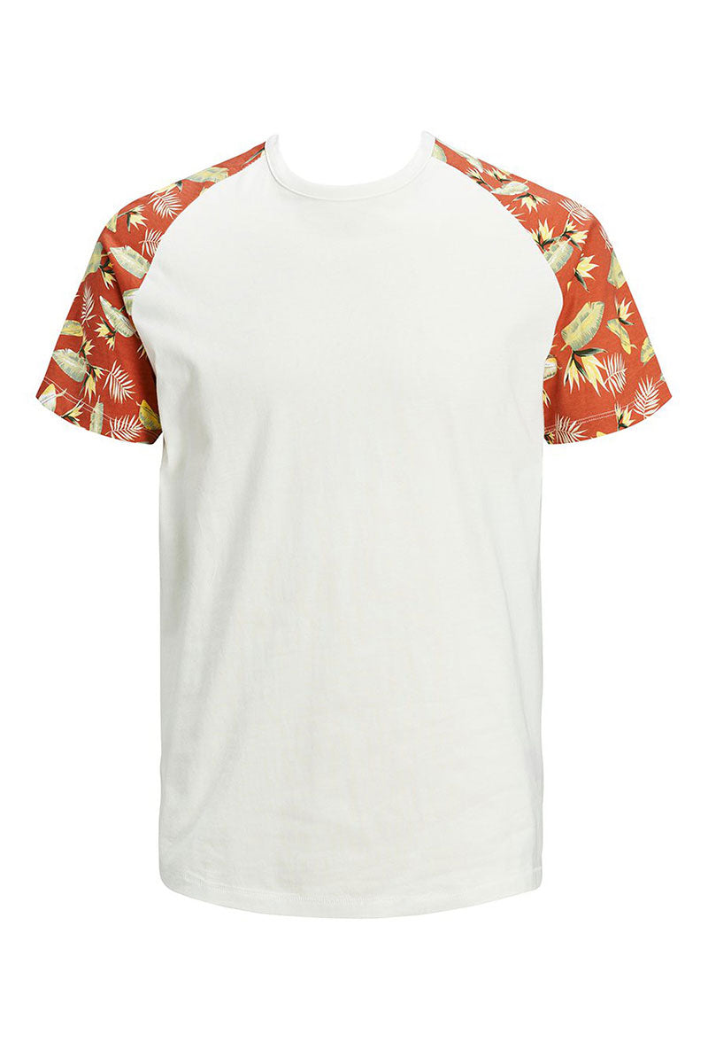 JACK AND JONES TROPIC RAGLAN TEE