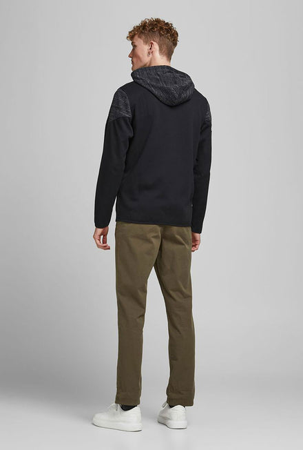 JACK AND JONES BANG SWEAT ZIP HOOD