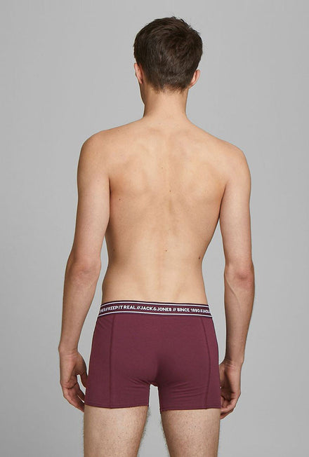 JACK AND JONES TEXT 3 PACK UNDERWEAR