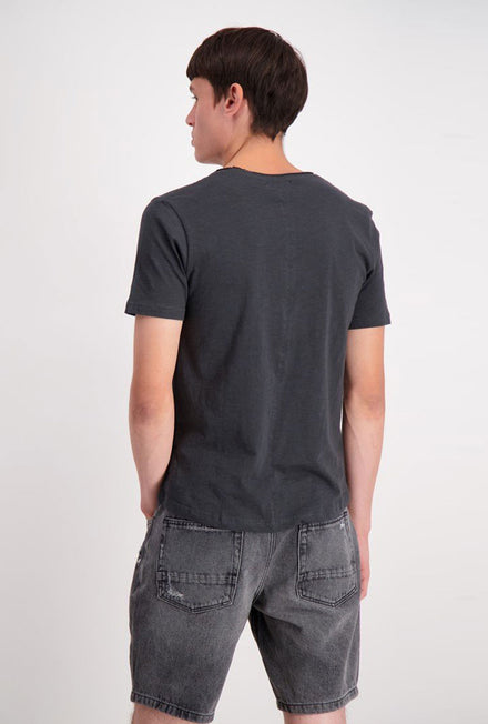 SHINE ORIGINAL RAW EDGE SLUB TSHIRT