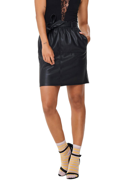 RIGIE PAPER BAG SKIRT