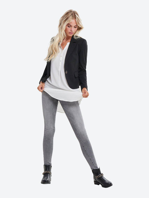 STRETCHY FITTED BLAZER-London Clothing Company ®