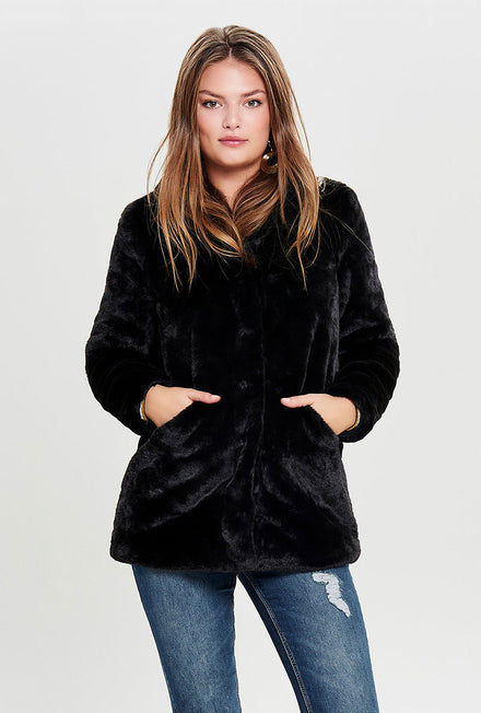 ONLY VIDA FAKE FUR COAT