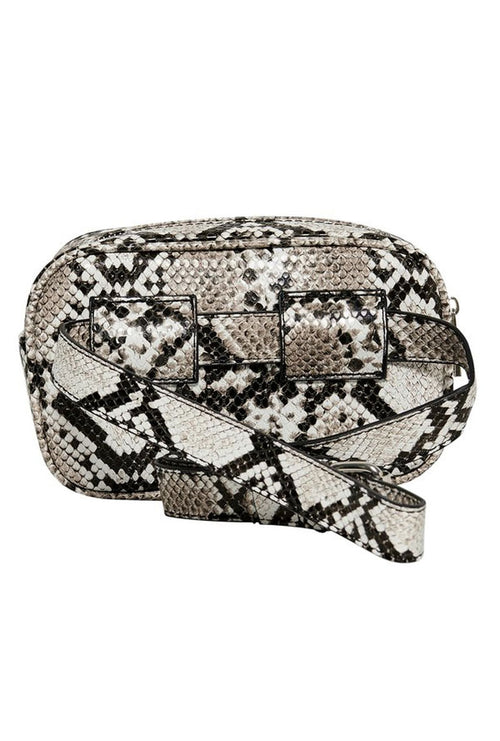 ZAG SNAKE PU BELT BUM BAG-London Clothing Company ®