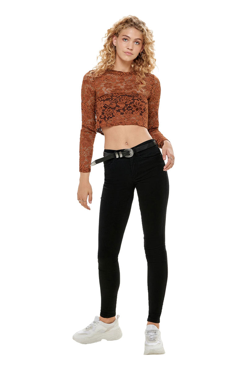 ONLY MAZE CROPPED TOP