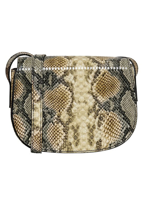 LULU SNAKE PU CROSSBODY BAG-London Clothing Company ®