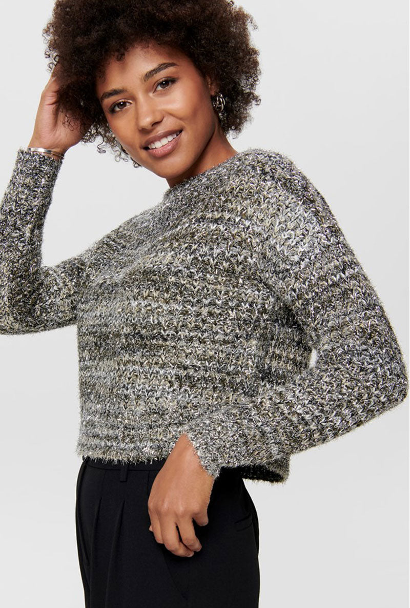 ONLY DISCO KNIT PULLOVER