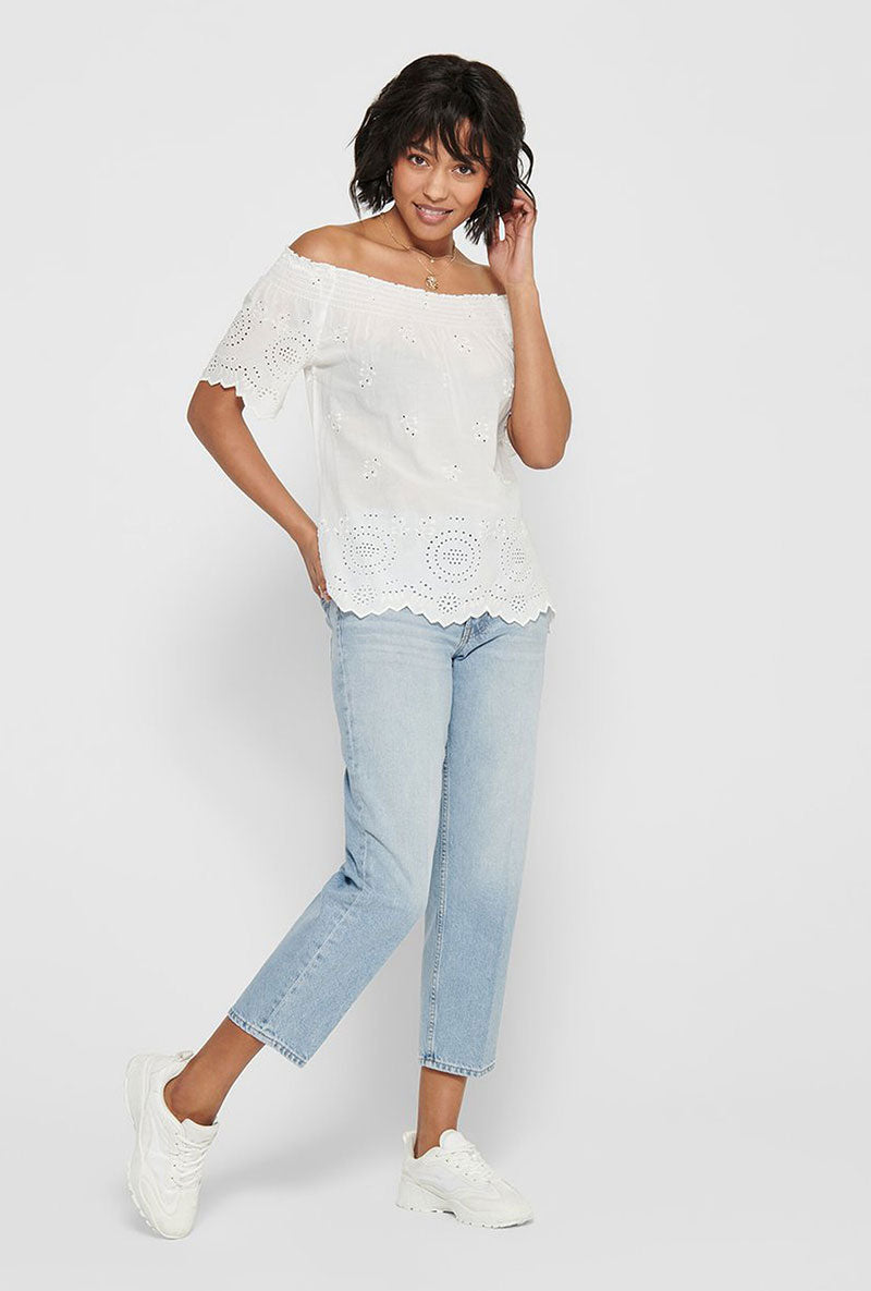 ONLY SHERRY OFF SHOULDER TOP