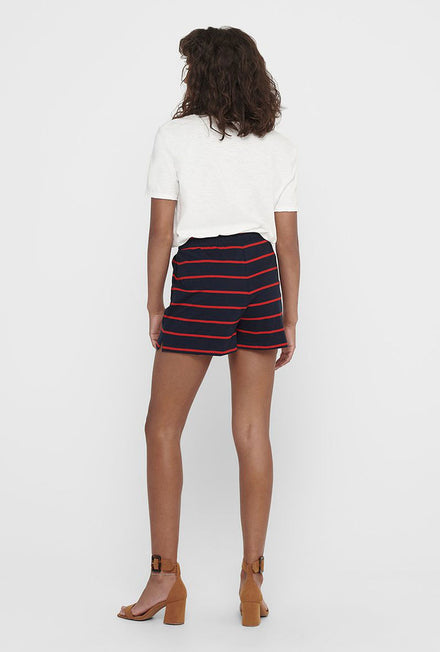 ONLY MAY LIFE STRIPE SHORTS
