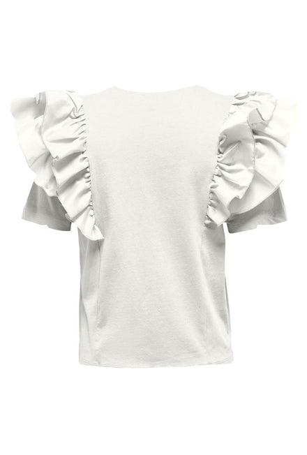 ONLY ONA RUFFLE TOP