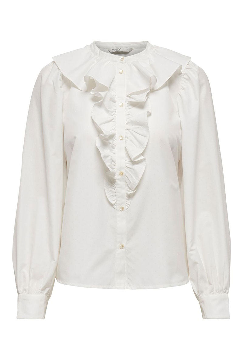 ONLY GWENDA RUFFLE SHIRT
